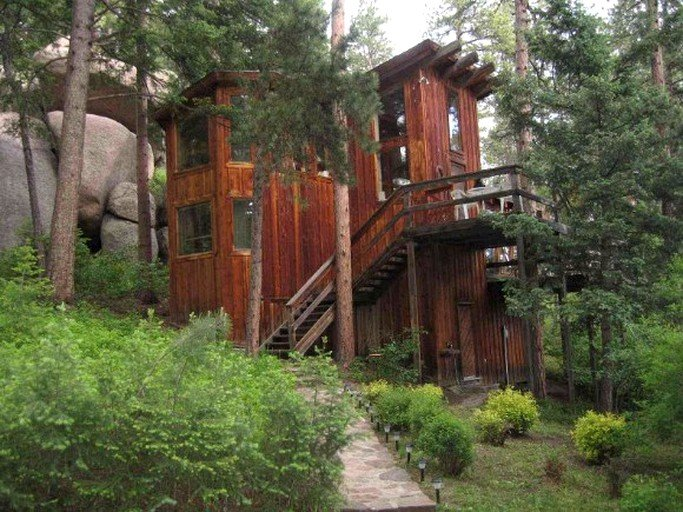 Miraculous Unique Cabin Rental In Pike National Forest Near Colorado Springs Colorado Beutiful Home Inspiration Ommitmahrainfo
