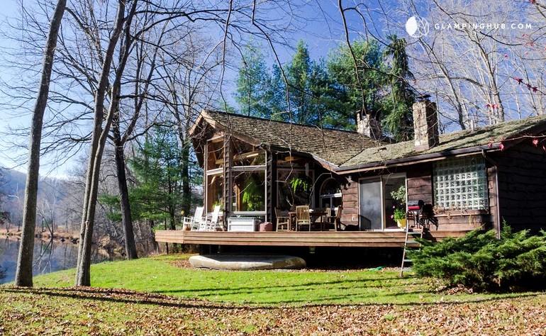 in photo rentals cabin virginia genoa west riverside log ravines main cabins rustic