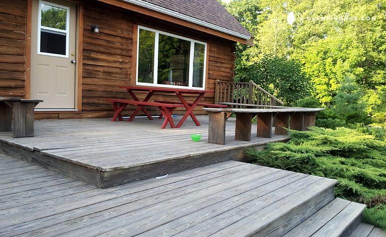 Camping Cabin Near Bangor Maine
