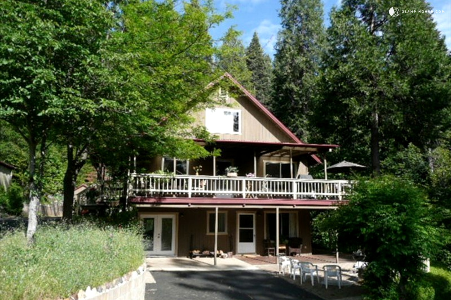 cabin rental in pioneer california