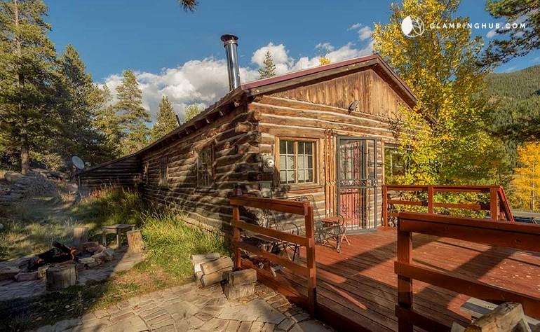 Cabin rental near copper mountain colorado for Mountain cabin rentals colorado