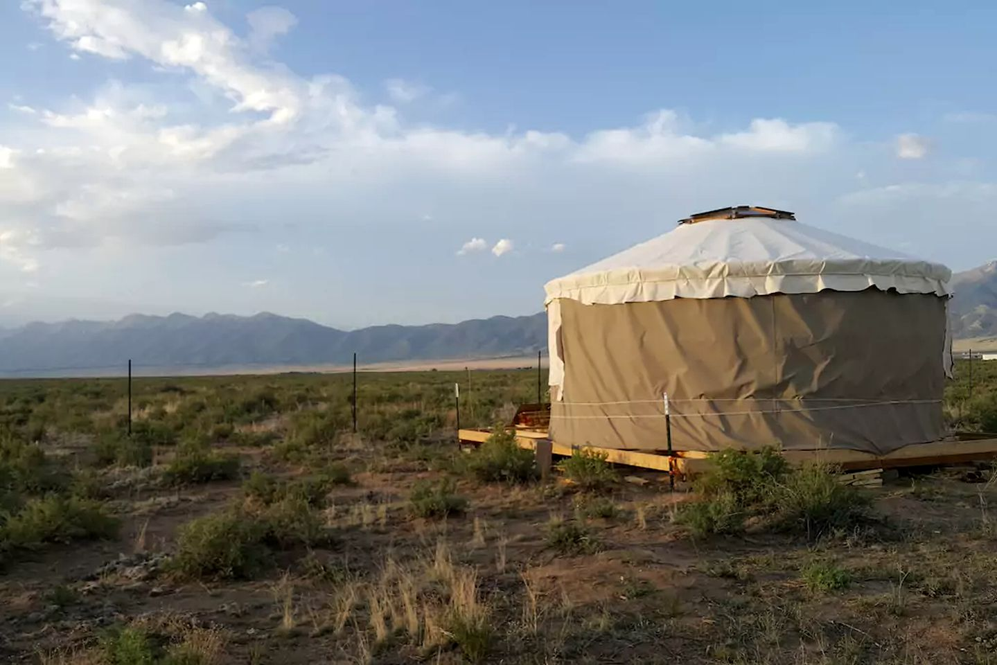 Yurts (Capulin, Colorado, United States)
