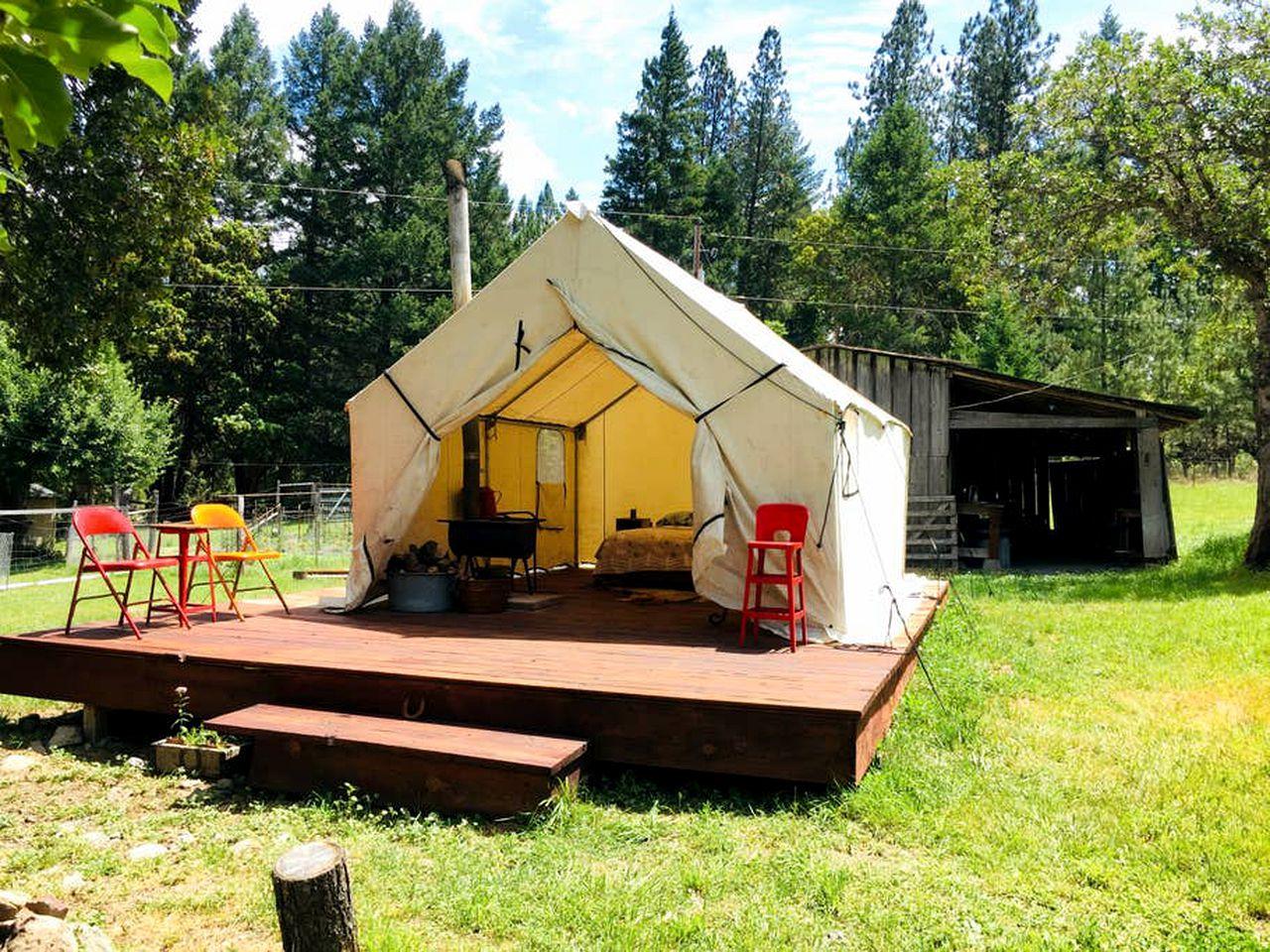 Camping Getaway   Jacksonville, Oregon   Glamping Hub