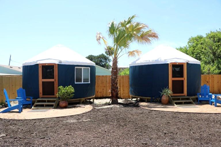 Fine Unique Yurt Rental Near The Beach Near Corpus Christi Texas Download Free Architecture Designs Griteanizatbritishbridgeorg
