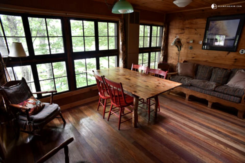 Adirondack cabin rental in upstate new york for Upstate new york cabin