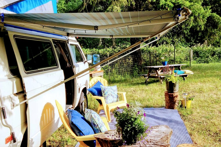 Tremendous Gorgeous Campervan Rental For A Vacation In The Woods Near Cottage Grove Oregon Interior Design Ideas Gentotryabchikinfo