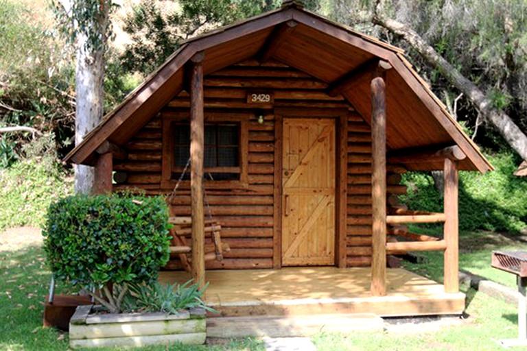 Camper Cabins at a Family-Fun Campsite in Chula Vista, San Diego