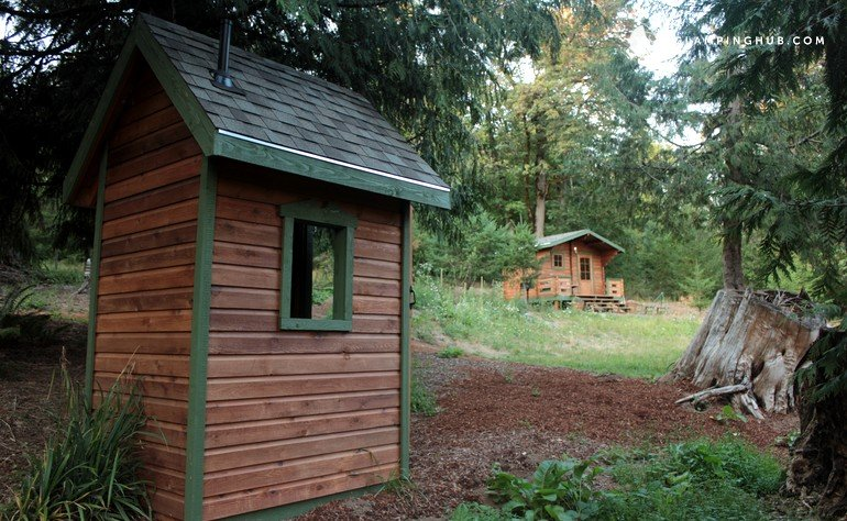Romantic getaway near portland or for Romantic cabins oregon