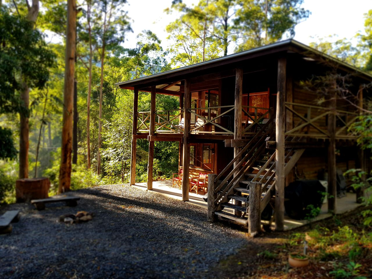 Log Cabins (Main Creek, New South Wales, Australia)