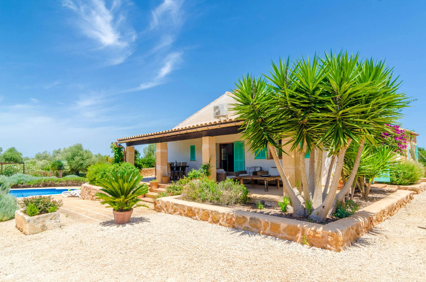 Enjoy a holiday in Mallorca at this villa rental!