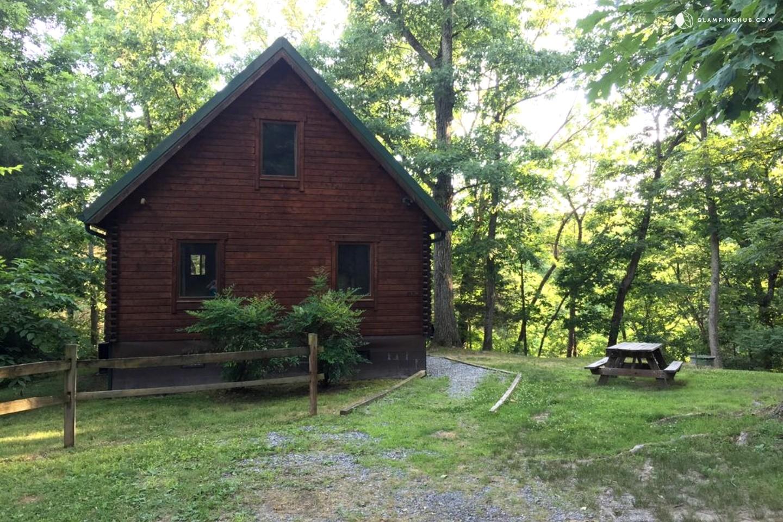 Cabin near george washington national forest virginia for Cabin rentals near luray va
