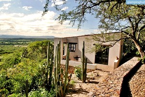 Charming Adobe Villas Perched Over Valley in Guanajato, Mexico