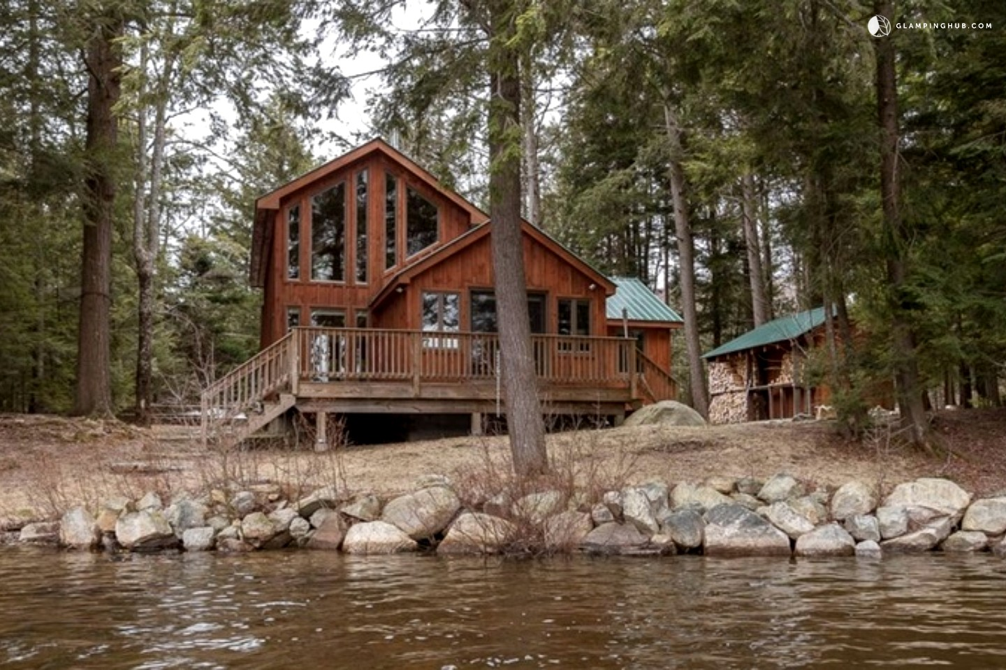 100 Double Bunk Cabin New York Luxury Vacation Log