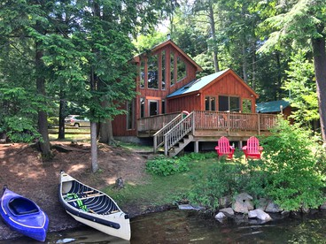 Charming And Private Cabin Situated On Charley Lake In The Adirondacks
