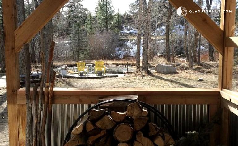 Pet Friendly Cabin Colorado: cabin creek 15