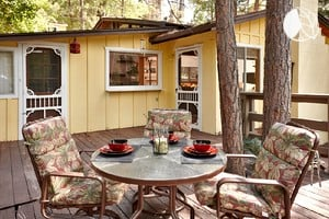 Photo of Charming Cabin with Deck and Hot Tub, California