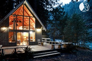 Photo of Charming Mid-Century Cabin Overlooking Austin Creek, California