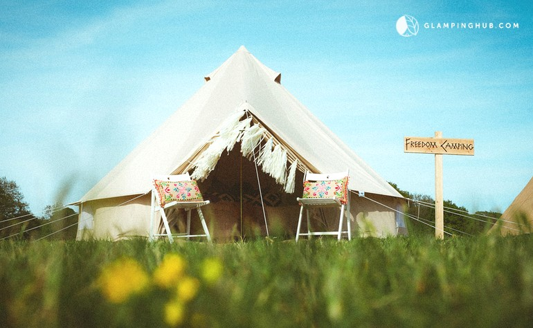 & Glamping Bell Tents England