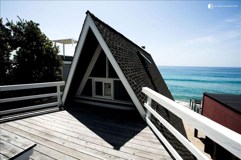 waterfront cabin rental malibu