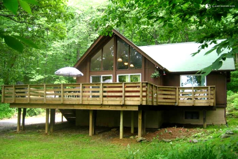 luxury cabin near blue ridge mountains virginia