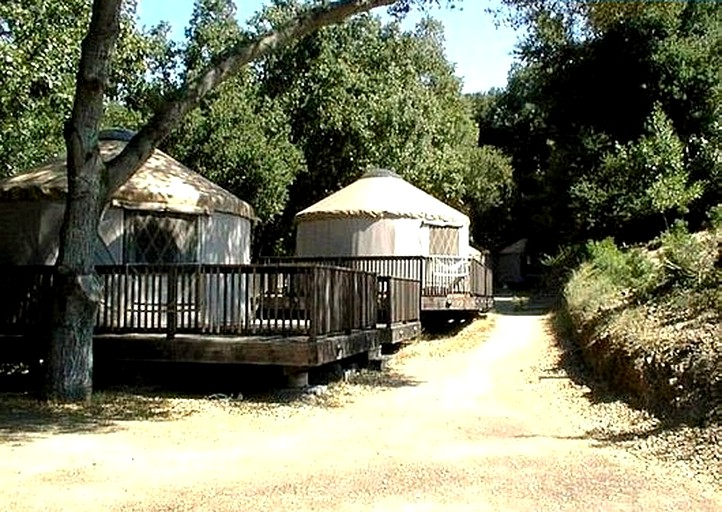Clothing Optional Yurts Nestled In Santa Cruz Mountains California