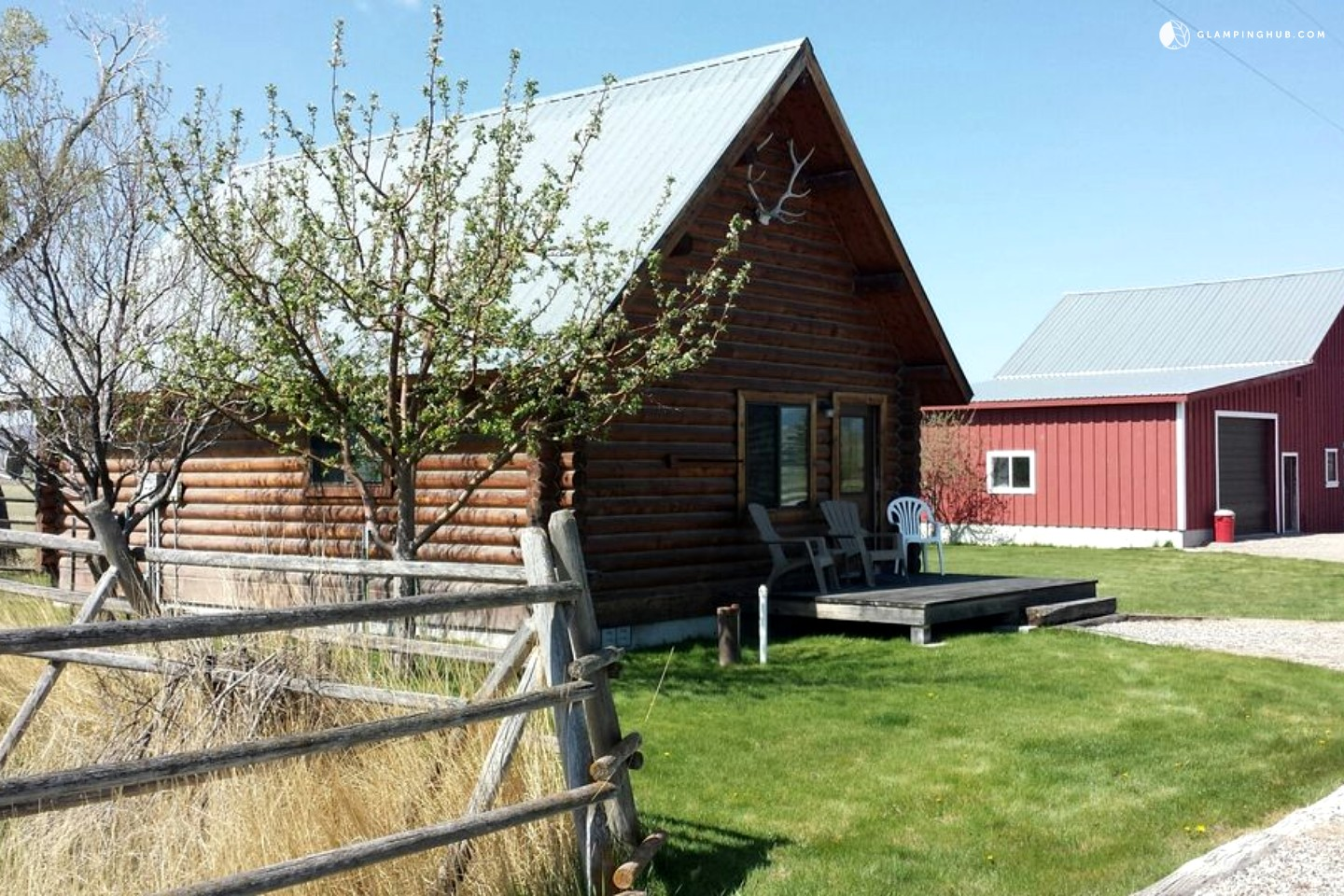 Log cabin for rent in southern montana for Log cabins rentals