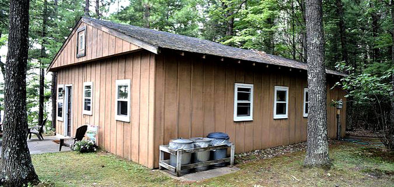 Cabin Rental on Moen Lake, Wisconsin