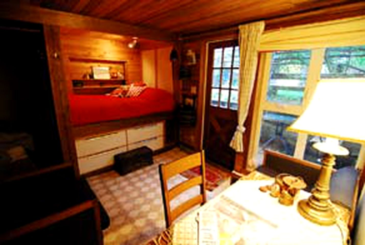 Lodging in British Columbia on the Queen Charlotte Islands.