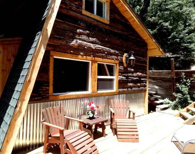 Cozy Cabin Rental Nestled In A Private Forest Near Palomar Mountain State Park California