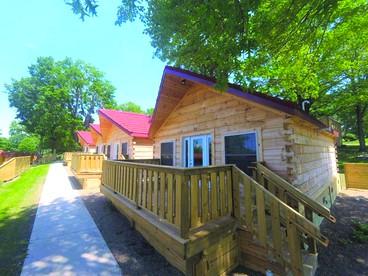 Cozy Camping Cabin Rental Near Lake Erie Pennsylvania