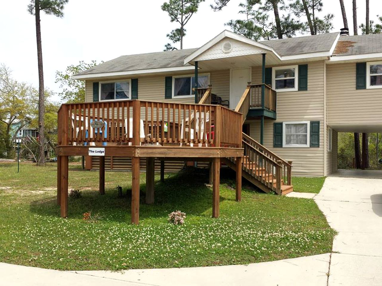 Pet-friendly vacation rental near the De Soto National Forest, Mississippi