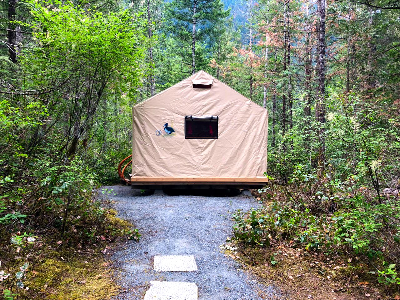 Safari Tents (Madeira Park, British Columbia, Canada)