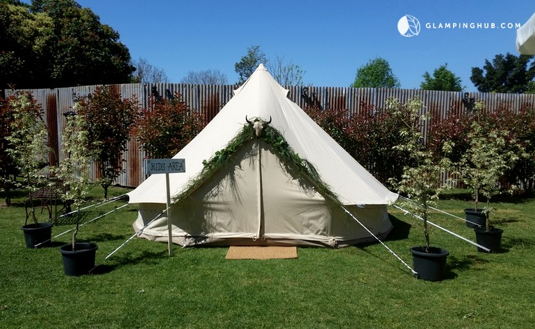 luxury tent cing near sydney