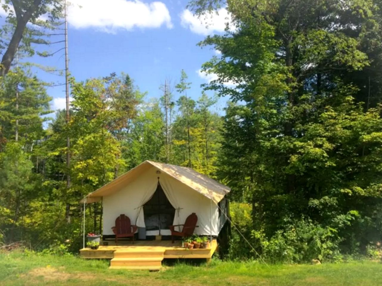 Tented Cabins (North River, New York, United States)
