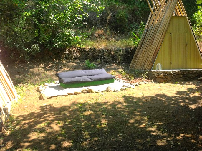 Camping Tipis In The North Of Portugal