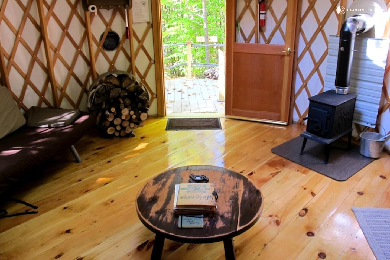 Yurt Rental Maine Glamping Yurt Maine