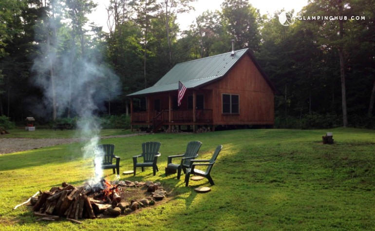 Upscale cabin in new york for Cabins near letchworth state park