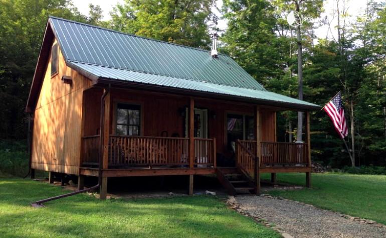 Upscale Cabin In New York