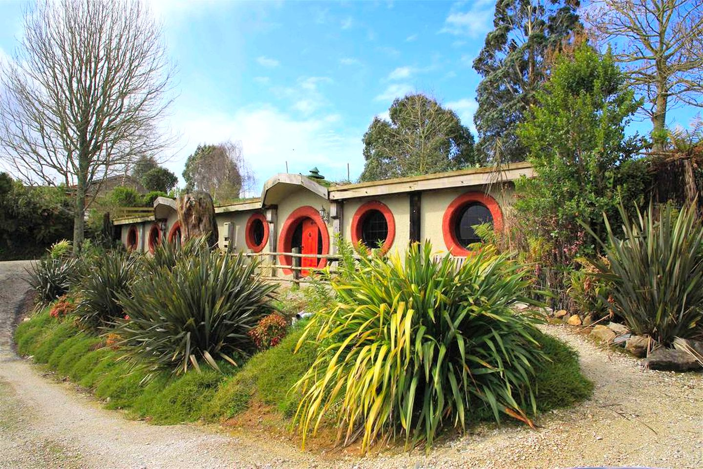 the hobbit motel, New Zealand (Otorohanga, North Island, New Zealand)