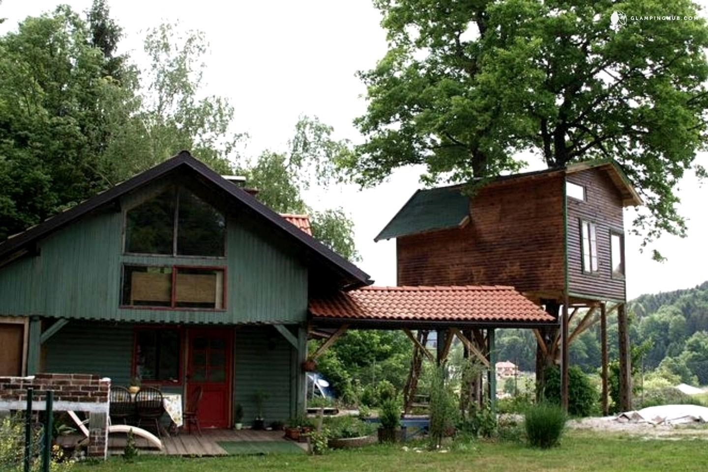 Eco Friendly Tree House Near Ljubljana Slovenia