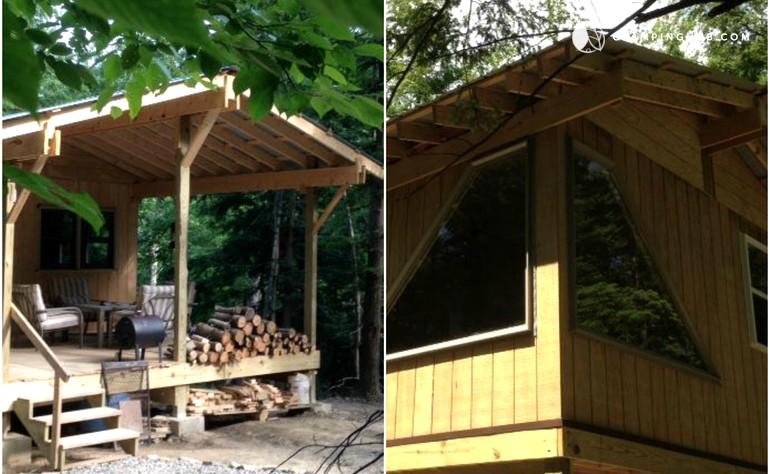 Cabin Near Letchworth State Park New York