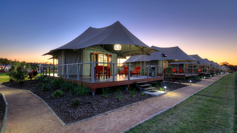Safari Tent Rentals On Sunshine Coast In Queensland