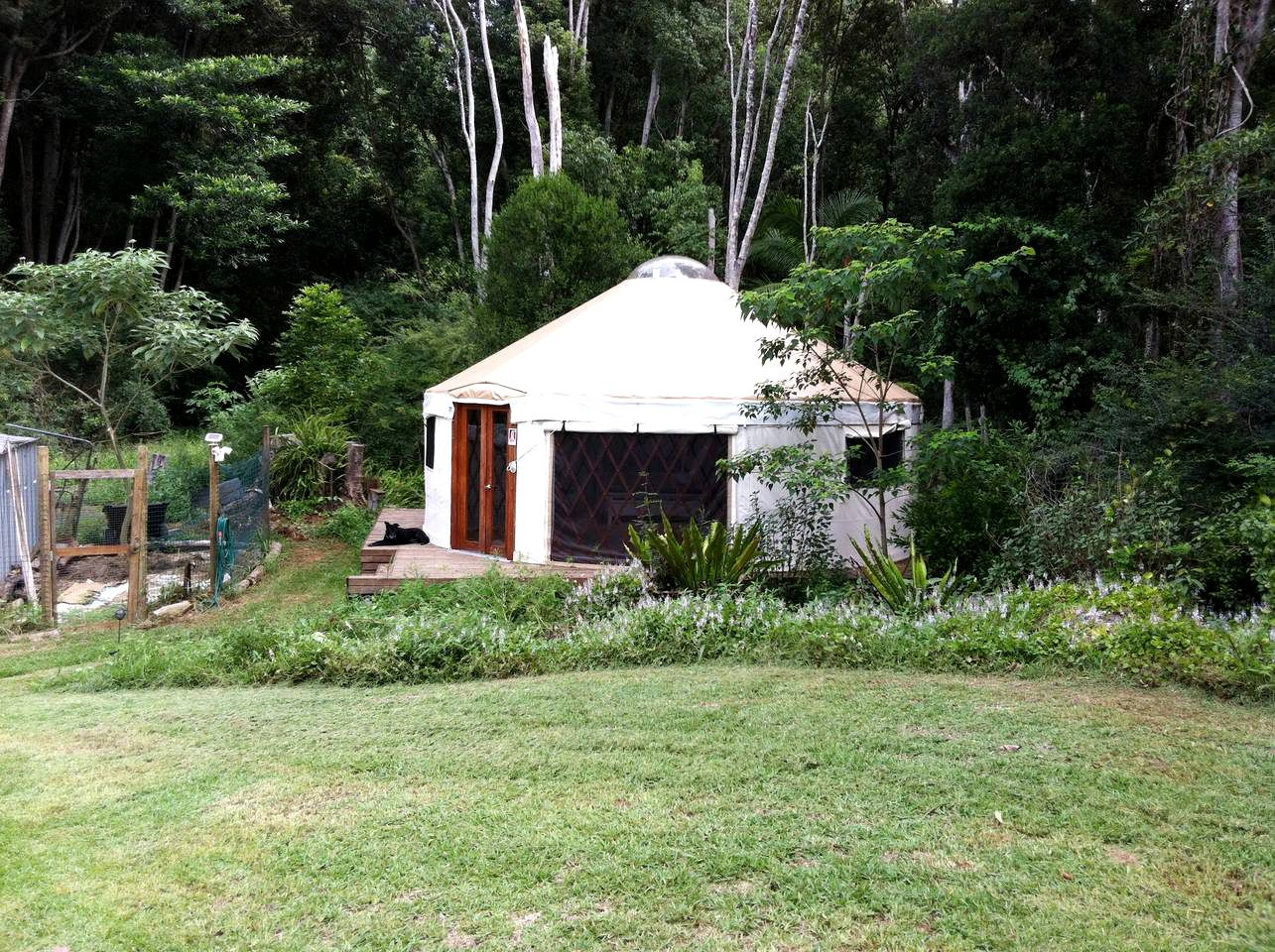 Yurts (Lismore, New South Wales, Australia)