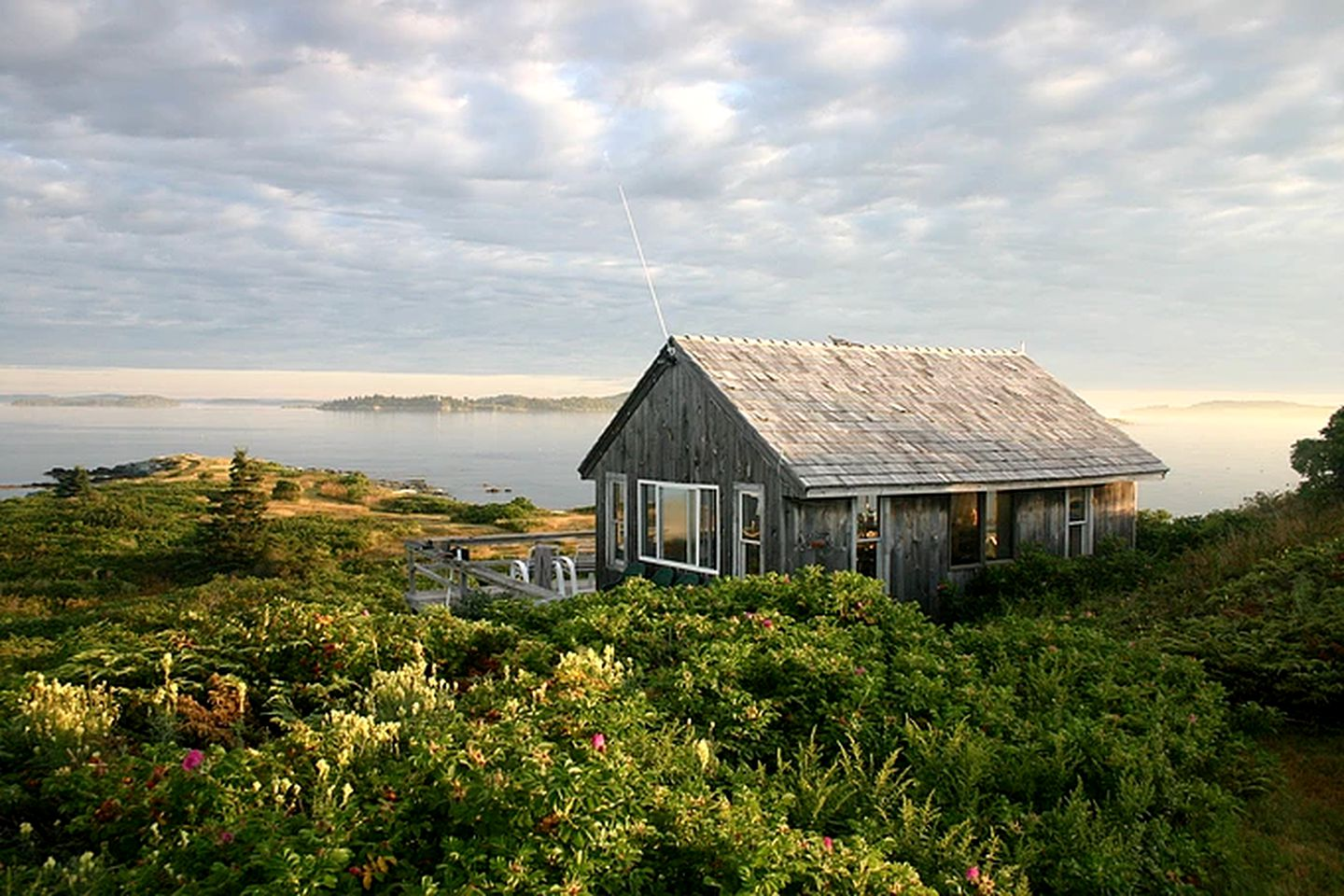 Private Island Rental Off The Coast Of Camden Maine