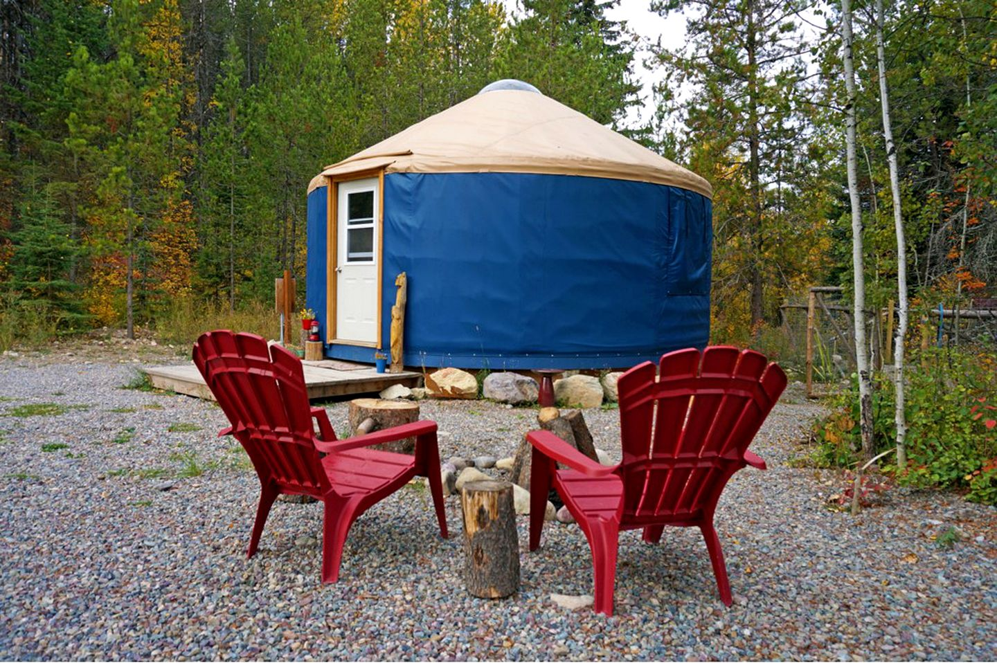 Pet-friendly yurts in Montana