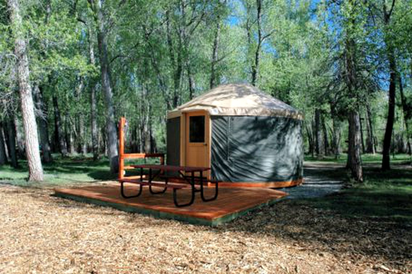 Yurts (Dolores, Colorado, United States)