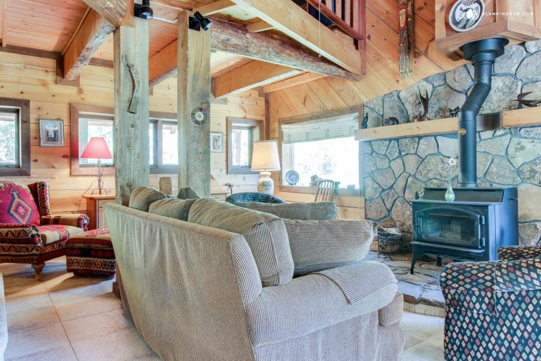 Dog friendly cabin in durango colorado for Pet friendly colorado cabins