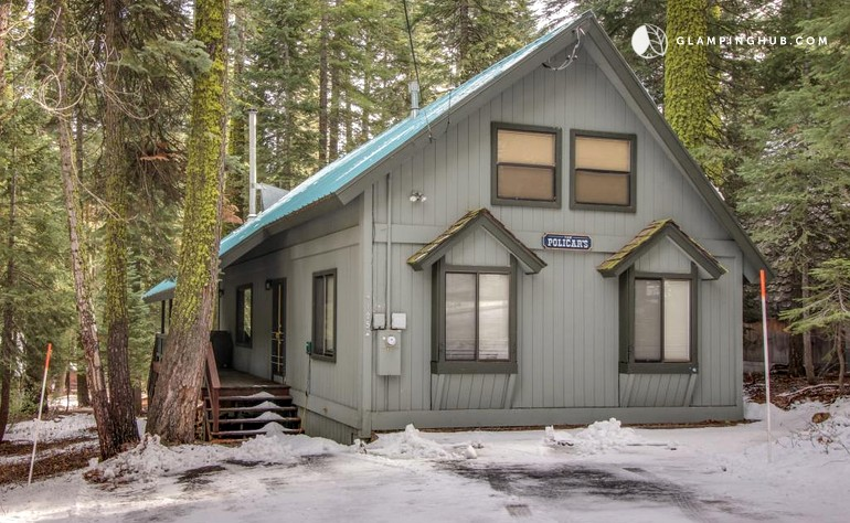 Ski cabin rental near lake tahoe california for Rent a cabin in lake tahoe ca
