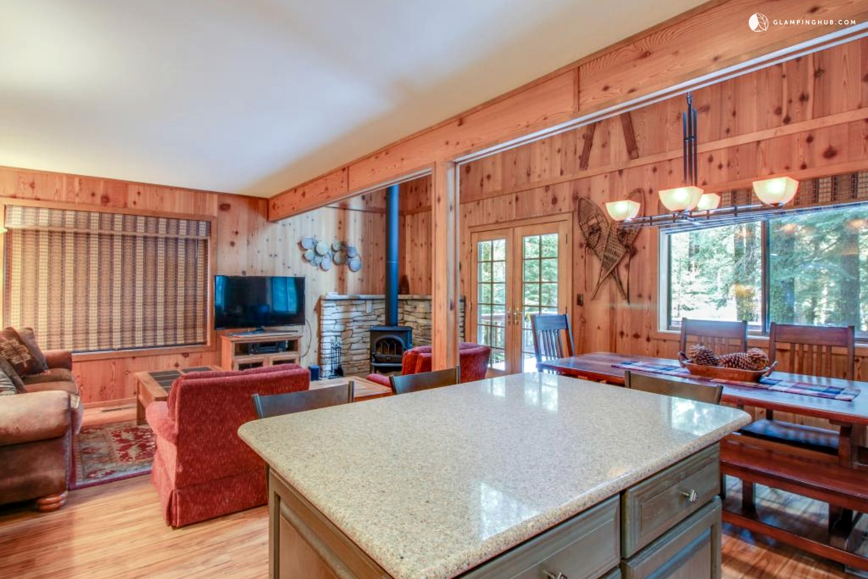 Ski Cabin Rental Near Lake Tahoe California
