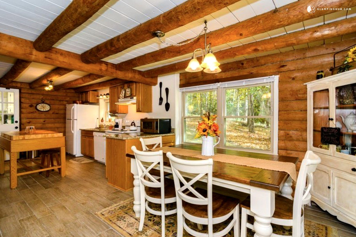 Cabin rental with hot tub near asheville north carolina for Cabins near hendersonville nc
